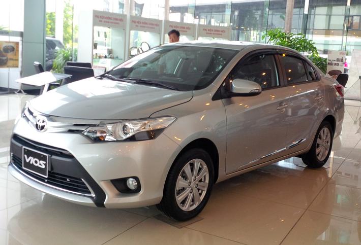Thuê xe 4 chỗ tự lái Toyota Vios