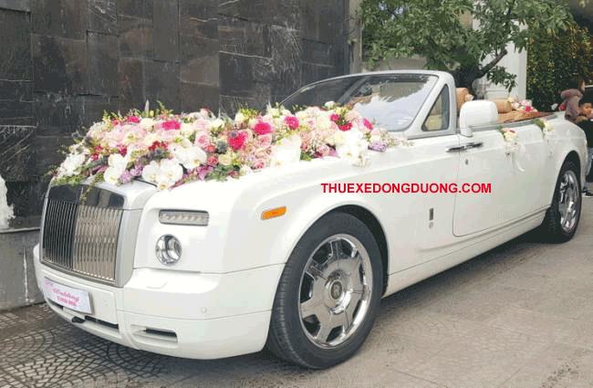 Thuê xe hoa đám cưới quận 6