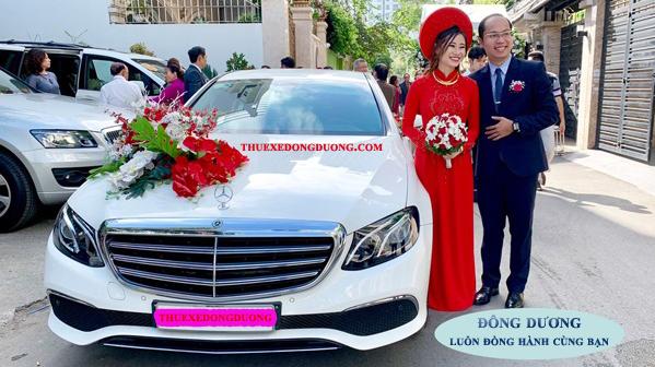 Thuê xe hoa đám cưới Hóc Môn